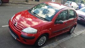 2006 CITROEN C3 RED! NOT POLO, MINI, FIESTA, FIAT! A MUST SEE!! FIRST WILL BUY!! CALL: 07492 166 305