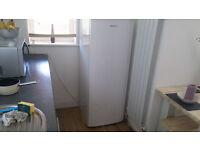 Tall white fridge