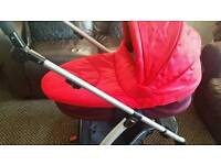 Mamas and papas sola 2 with carrycot and carseat