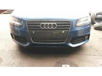 BREAKING AUDI A4 SE B8 2009 2.0 TDI CVT 8 SPEED AUTOMATIC BLUE 91k