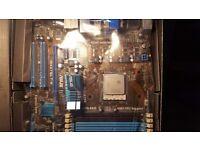 ASUS M4A78LT-M, Socket AM3, AMD with AMD Athlon II X4 635 ADX635WFK42GM 2.9 GHz quad core AM3 CPU