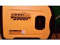 Loncin 2000I inverter generator 1.6 kw Used