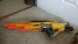 Nerf stampede gun boxed