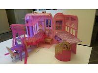 Barbie Princess Charm School, Car & Dolls £20