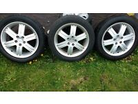 "18"" Alloy wheels Mitsubishi Grandis"
