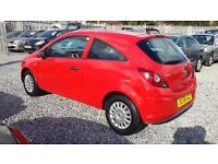 Vauxhall CORSA, 998cc PETROL, HATCHBACK, MANUAL, RED, 2008(58)LONG MOT.