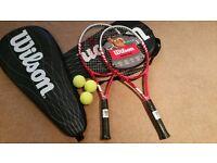 Brand New Wilson Exclusive rackets!