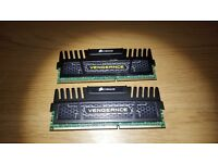 8gb (2x4gb) corsair Vengeance 1600Mhz DDR3 RAM