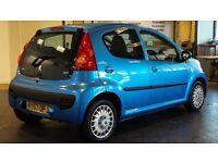Peugeot 107 - 1.0 Urban - Blue - 57 Plate - 1 Year MOT- £20 Tax