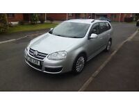 2008 Volkswagen Golf 1.9 Tdi Estate with Full service history