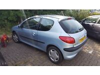 Peugeot 206 parts spares or repairs. This car only has 70000 on the clock but piston have blown