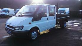 2006 FORD TRANSIT DOUBLE CAB TIPPER 1 OWNER 74000 MILES DEPOSIT NOW TAKEN