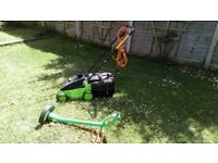 Lawn mower and Grass trimmer