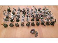 50 Warhammer 40k Ork Boyz and Nob