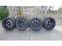 4x Alloy Wheels with GoodYear Ultra Grip Tyres, 18inch, Cheap