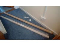 Blackout Blind NEW cream/beige 72 inches, width x 66 inches deep. Fittings and instruction included.