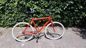 Classic Dutch / Cruiser style commuter bike (fixie, single speed, coaster brake)