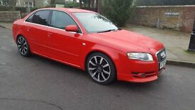 Audi A4 TDCi 6speed leather 4xDVD screens