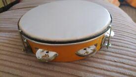 Tambourine, musical instrument, drum, percussion