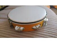 Tambourine, musical instrument, drum, percussion