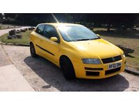 FIAT STILO DYNAMIC 1.8 2002, LEATHER INTERIOR, A LOT OF NEW PARTS, NO ADVISORIES ON MOT, LOW MILEAGE