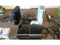 1 ps3 and 2 xbox 360