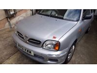 Nissan Micra Silver 3 Door K11