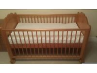 Mama's and Papa's Antique Pine Cot-bed