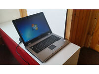 Toshiba Satellite Pro A120 Laptop/Intel Core 2 Duo 1.66Ghz/2Gb Ram/120Gb HDD/Dvd-rom/cd/rw Windows 7