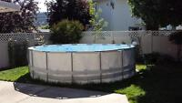 18 foot Hydro Force above ground pool