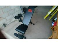 Weight and abb work out bench