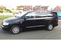 SSANGYONG RODIUS 4X4 270 SX DIESEL AUTOMATIC MPV 7 SEATER