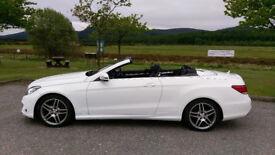 SOLD - Mercedes-Benz E Class AMG SPORT 2.1 E220 TD CDI Convertible 7G-Tronic Plus 2dr AUTO 2013