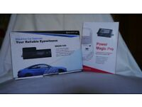 Blackvue DR450 1 Ch Dashcam along with a Power Magic Pro Power Adapter