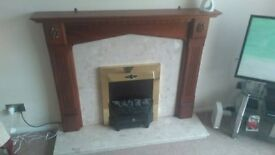 Electric Fire place & Surround