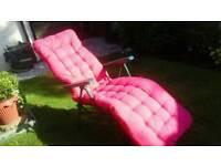 Mattress for reclining sun lounger NEW