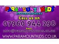 Kids party entertainer's, disco's, magician's, events
