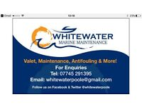 WhiteWater Marine Maintenance, Poole. Offering quality boat management across the south of the UK.