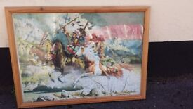 Large FRAMED JIGSAW PUZZLE