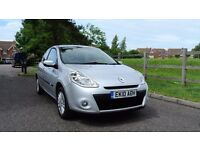 Renault Clio 1.2 16v 2010 I-Music 3dr 1 Owner from new, Full Service History