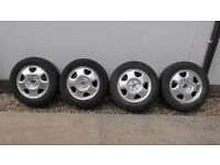 4 Honda CRV wheels and tyres