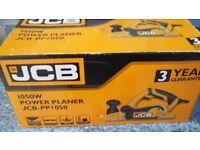 Jcb power planer 1050w brand new in box
