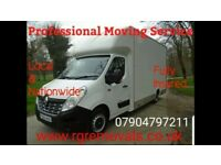 Removals man and van service also