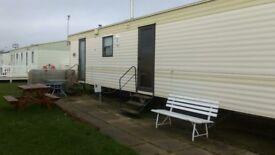 Caravan to hire/rent at Cayton bay bank holiday £50