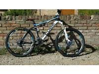 Cube ams 130 pro, mtb, full suspension, mountain bike