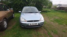 Ford Focus 2004 Plate Petrol