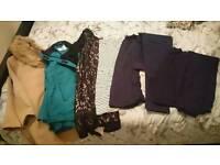 Maternity clothes bundle sizes 12 / 14