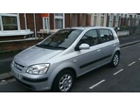 Automatic hyundai getz 2004 5 door