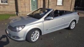 Vauxhall Astra Twin top low mileage