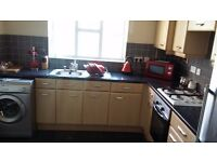 ROOMS TO LET IN A FULLY FURNISHED 5 BEDROOM HOUSE WITH 3 TOILETS AND 2 BATHROOM IN MOSTON MANCHESTER